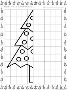 Christmas Symmetry Activities - Your class are going to love this!