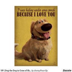 Disney Movie Rewards, Disney Pixar Up, Disney Movies, Disney Dogs, Pixar Movies, Disney Characters, Dug The Dog, Dug Up, Vintage Disney Posters