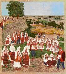Tamberitzans in old school Croatia