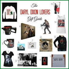 The Daryl Dixon Lovers Gift Guide - The Naughty Mommy. Fans of The Walking Dead will love this Daryl Dixon Lovers Gift Guide. All the gifts that will make a DD lover swoon!
