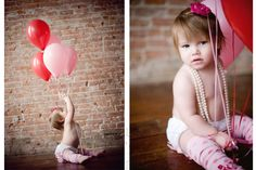 Balloon birthday portraits <3