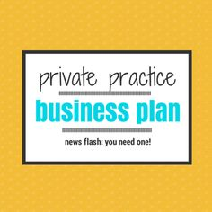 counseling private practice business plan pdf
