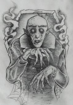 #nosferatu #tattoo #sketch