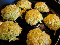 {Zucchini} Poorman's Crabcakes - I remember making these about 30 yrs ago.  Good to find the recipe again.