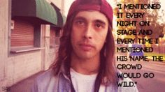 Vic Fuentes talking about Mitch Lucker