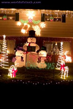 Christmas outside decorations pictures | Outdoor Christmas Decoration Ideas