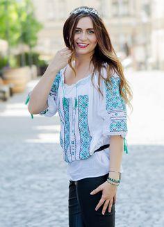 "Romanian girl  #romanian #girl ""#traditional #ie #romania"