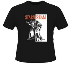 Starscream Cartoon Robot T Shirt