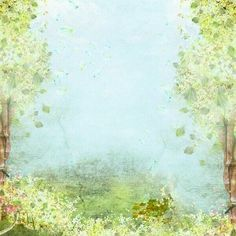 Paper Wallpaper, Wallpaper Backgrounds, Spring Backgrounds, Papel Scrapbook, Spring Forest, Forest Background, Borders And Frames, Writing Paper, Printable Paper