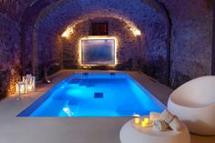 iew pictures of exquisite indoor pool designs. An indoor swimming pool offers the luxury of year-round enjoyment as well as privacy. Luxury Swimming Pools, Luxury Pools, Indoor Swimming Pools, Dream Pools, Lap Pools, Pool Spa, Underground Pool, Villas, Sauna
