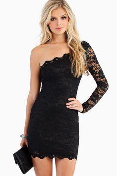 Shonti Lace Dress - Little Black Dress