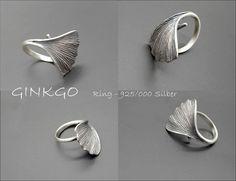 Ginkgo - NATURschmückt-Schmuck inspiriert durch die Natur