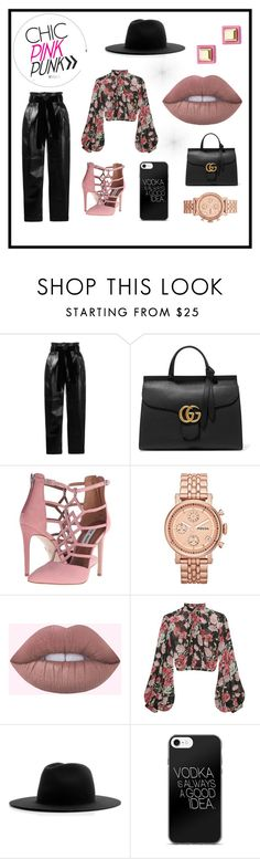 """""""The Floral Eccentric"""" by monique-jussmodel-type on Polyvore featuring Philosophy di Lorenzo Serafini, Gucci, Steve Madden, FOSSIL, Jill Stuart, Études and Marc by Marc Jacobs"""
