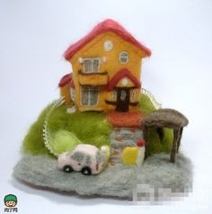 OKA Diorama sheep blankets can actually produce transport, buildings and the like is completely cold stiff stuff, but you can also put them ...