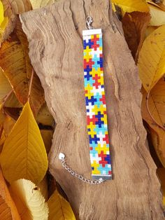 Peyote Stitch Patterns, Seed Bead Patterns, Beading Patterns, Seed Bead Crafts, Beaded Crafts, Motifs Perler, Native American Beading, Loom Bracelets, Tear