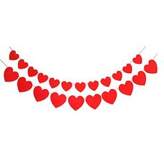 Valentine Day Love Heart Garland Banners Wedding Party Decorations Ornaments Supplies  10ft x 2 *** You can find more details by visiting the image link.Note:It is affiliate link to Amazon. #lifestylestore