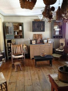 1000 Images About Primitive Rooms On Pinterest