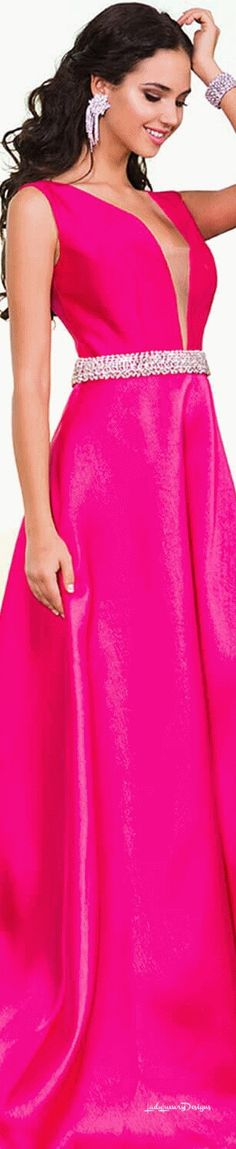 Jovani - LadyLuxury7 Bright Pink, Magenta, All Things, Personal Style, Cool Outfits, Style Inspiration, Luxury, Formal Dresses, Chic