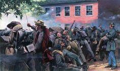 American Civil War, Confederate Sharp Shooters - Gettysburg 1863