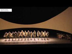 Dark clown and dance. LOVE! Parade- Choreography by Crystal Pite - NEDERLANDS DANS THEATER (NDT)