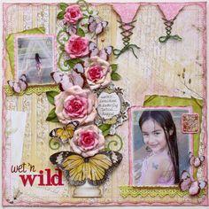 Wet 'n Wild **New Bo Bunny Country Garden!** - Scrapbook.com