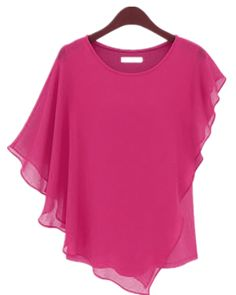 Online Fashion Stores, Womens Fashion Online, Chiffon Blouses, Shirt Blouses, Shirts, Bat Sleeve, Shirt Sleeves, Blouses For Women, Tank Tops