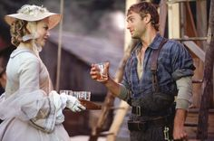 Nicole Kidman and Jude Law in Cold Mountain.