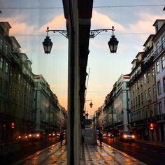 Rua Áurea (Rua do Ouro) em Lisboa, Lisboa Lisbon, Street