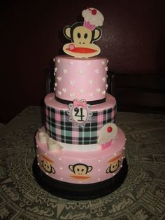 Paul Frank Birthday cake By doramoreno62 on CakeCentral.com...OMG I want to make myself this cake for my next birthday