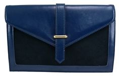 Brooklyn Leather Clutch in Dark Navy - $89.00   Check it out at: http://www.bagaholics.com.au/leather-bags-c6/-brooklyn-leather-clutch-in-dark-navy-p587/