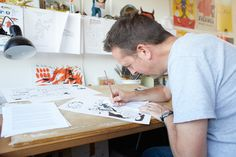 At Work: Jason Ford, Illustrator | Port Magazine