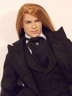 OOAK Barbie Basics Ken by -Twisty-, via Flickr