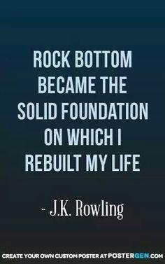 JK Rowling should understand it then