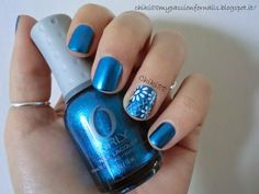 CHIKI88...  my passion for nails!: 31 days challenge: Blue!