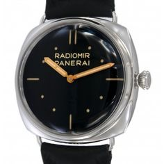 RADIOMIR PAM00425 STEEL, LEATHER, 47MM Steel, Leather, Iron