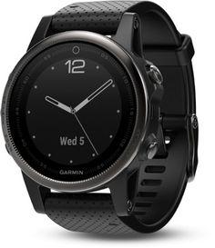 cc628f8cc Garmin Fenix 5S Sapphire GPS Heart Rate Monitor Watch Black/Black Regular Rose  Gold Apple