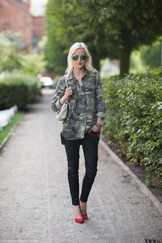 obsessed with camo for fall