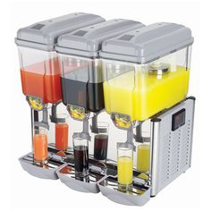 Check out this Triple 1 Litre Juice Dispenser from MiniFridge.co.uk