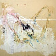 Tracey Emin Ruined acrylic, oil pastel and pencil on canvas, 72 x 72 x 2 Photograph by Stephen White. Courtesy of White Cube. © the artist Figure Painting, Painting & Drawing, Women Artist, Alberto Giacometti, English Artists, British Artists, Life Drawing, Contemporary Paintings, Modern Contemporary
