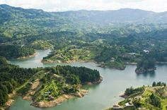 10 Places with Gorgeous Weather, All the Time: Guatape Lake, Medellin, Colombia, perfect weather Visit Colombia, Colombia Travel, Colombia Country, Tayrona National Park, Columbia Pictures, Live Wallpapers, Hd Wallpaper, Travel Abroad, Countries Of The World