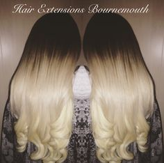 #BeautyWorks #HairExtensionsBournemouth #Balayage #PlatinumHair #HairExtensions
