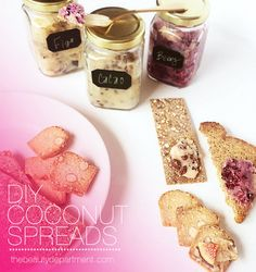 DIY time! Flavored coconut spreads are delicious and full of beauty benefits. Make one for yourself or for a vegan/vegetarian friend. Use it in place of butter! See the full post on thebeautydepartment.com