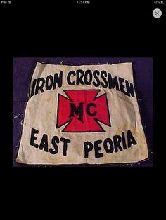 Iron Crossmen MC East Peoria