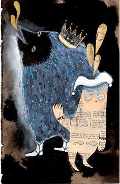 1e15c998b817b 8 Delightful Emma Kidd images | Animaux, Monsters, Superhero