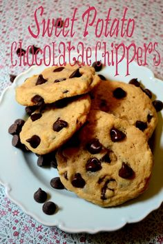 {Recipe}Your Kids will love these!! Sweet Potato Chocolate Chippers
