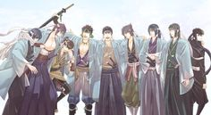 ❂ ❂ ❂ ❂ ❂ ❂ ❂ ❂ ❂ ❂ ❂ ❂ ❂ ❂ ❂ ❂ You may have heard of the Shinsengumi in many anime like gintama,Rur All Anime, Anime Love, Anime Guys, Manga Anime, The Garden Of Words, The Last Samurai, Funny Naruto Memes, Cut Animals, Butler Anime