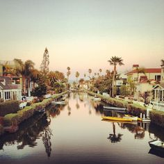 venice canals. definitely want to own a place here. so ideal.