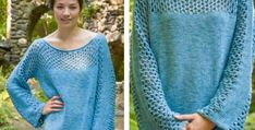 Choose this amazing Mesh Panel Knitted Pullover as your next knitting idea. In addition to get this FREE knitting pattern, continue NOW. Jumper Knitting Pattern, Jumper Patterns, Knitting Patterns Free, Free Knitting, Free Pattern, Knitting Projects, Knitting Ideas, Classic Elite Yarns, Knit Or Crochet