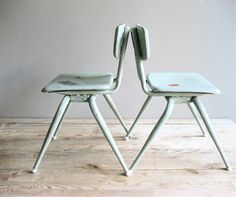 Vintage Pair Child's Chair by lovintagefinds on Etsy, $98.00