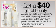 *Get a $40 Gift of Beauty